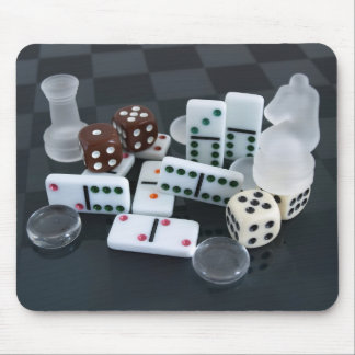 Game Pieces Mouse Pad