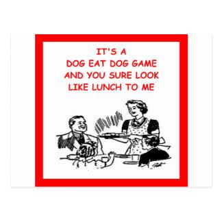 game players postcard