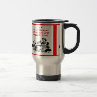game players travel mug