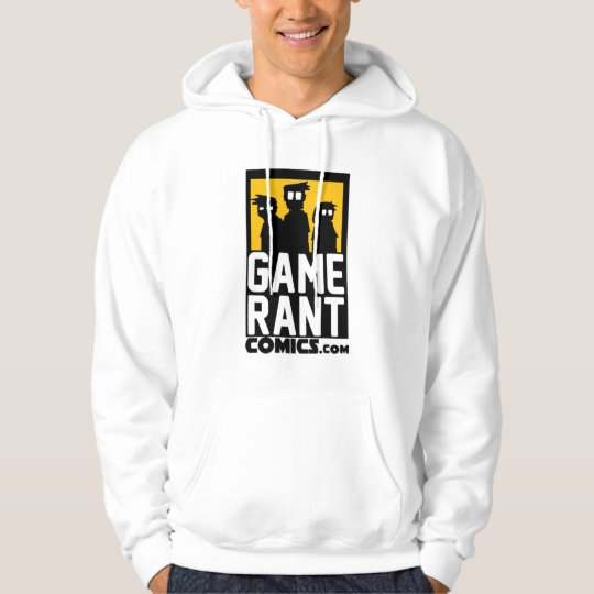Game Rant Comics Logo Hoodie