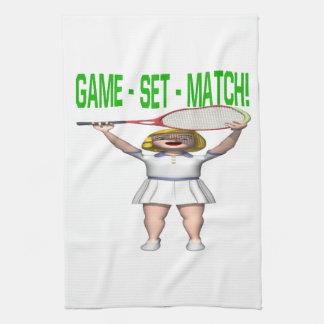 Game Set Match Towels