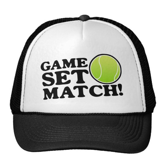 Game, Set, Match Trucker Hat