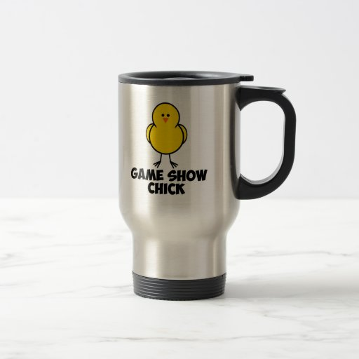 Game Show Chick 15 Oz Stainless Steel Travel Mug