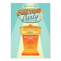 Game Show Party Invitation