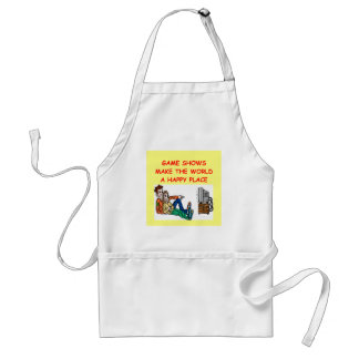 game shows adult apron