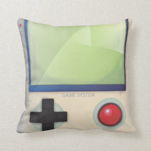 Game System Throw Pillow