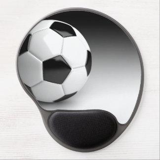 Game Team Coach Sports Ball Fun Soccer Ball Play Gel Mouse Pad