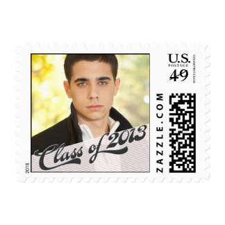 Game Time Custom Graduation Stamp - Red
