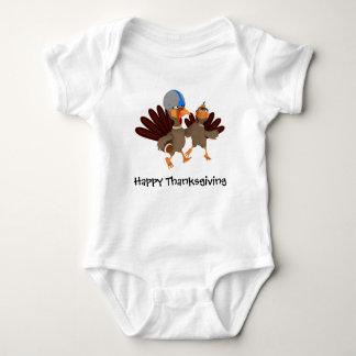 Game Time Thanksgiving Turkey Football Baby Bodysuit