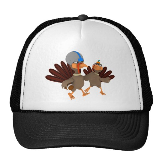 Game Time Thanksgiving Turkey Football Hat