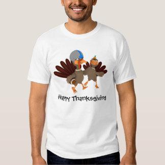 Game Time Thanksgiving Turkey Football T Shirt
