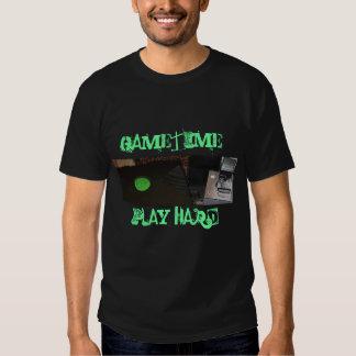 game unit, GAMETIME!, PLAY HARD! T-shirt