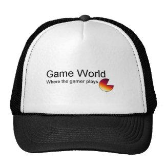 Game World Trucker Hat