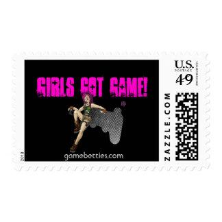 GameBetties black Stamp