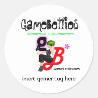 GameBetties Xbox sticker