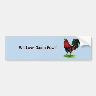Gamecock:  Dark Red Bumper Sticker