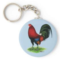 Gamecock:  Dark Red Keychain