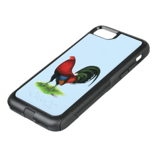 Gamecock:  Dark Red OtterBox Commuter iPhone 7 Case