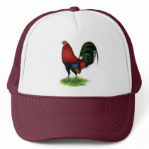 Gamecock:  Dark Red Trucker Hat