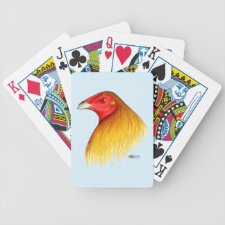 Gamecock Dubbed Bicycle Playing Cards