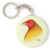 Gamecock Dubbed Keychain