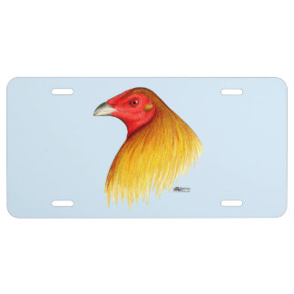 Gamecock Dubbed License Plate
