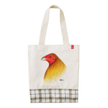 Gamecock Dubbed Zazzle HEART Tote Bag