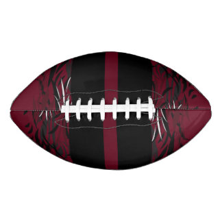 Gamecock Feathers Striped 2 Panel Design Football