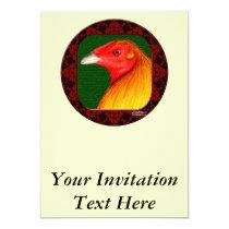 Gamecock Framed Invitation
