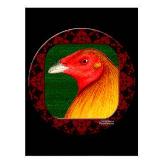 Gamecock Framed Postcard