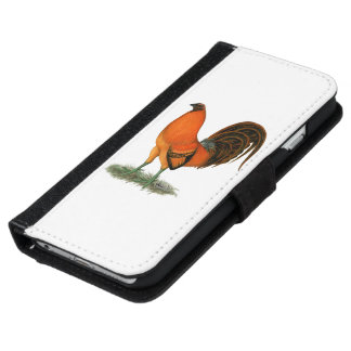 Gamecock Ginger Red Rooster iPhone 6/6s Wallet Case