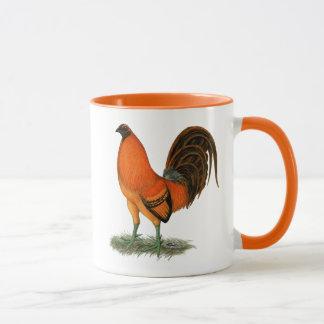 Gamecock Ginger Red Rooster Mug
