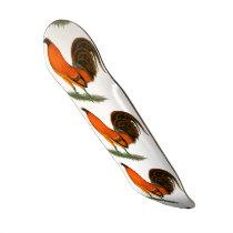 Gamecock Ginger Red Rooster Skateboard