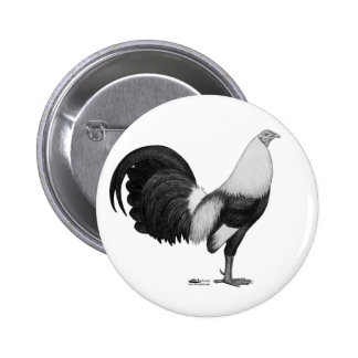 Gamecock Grey Duckwing Button