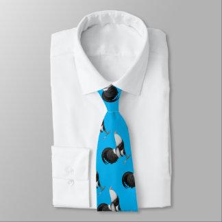 Gamecock Grey Duckwing Neck Tie