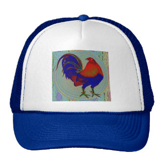 Gamecock:  Impressionist Rooster Trucker Hat