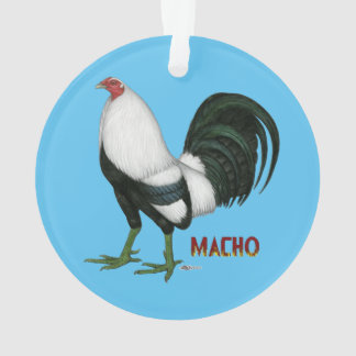 Gamecock Macho Duckwing Ornament