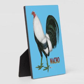 Gamecock Macho Duckwing Plaque