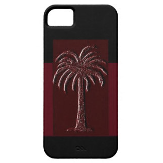 Gamecock Palm-Design 1 iPhone 5 Covers