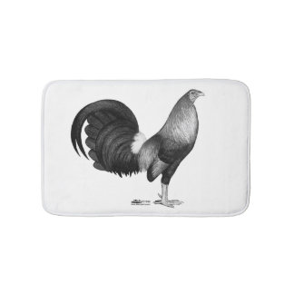 Gamecock Red Hatch Bathroom Mat