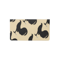 Gamecock Rooster Silhouette Checkbook Cover