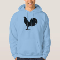 Gamecock Rooster Silhouette Hoodie
