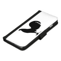 Gamecock Rooster Silhouette iPhone 8/7 Plus Wallet Case