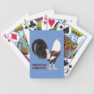 Gamecock Sepia Bicycle Playing Cards