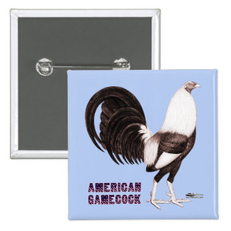 Gamecock Sepia Button