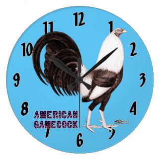 Gamecock Sepia Large Clock