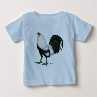 Gamecock Silver Duckwing Baby T-Shirt