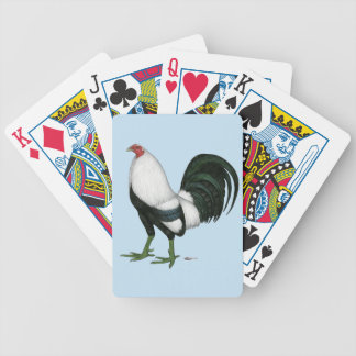 Gamecock Silver Duckwing Bicycle Playing Cards