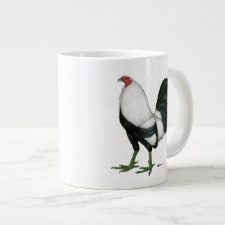 Gamecock Silver Duckwing Giant Coffee Mug