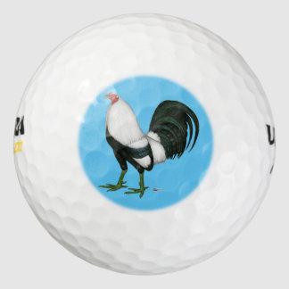 Gamecock Silver Duckwing Golf Balls